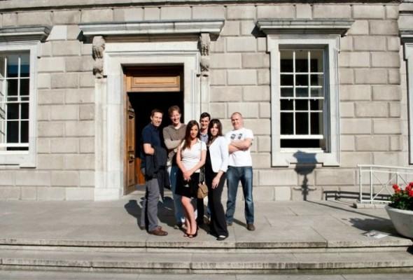 [photos] Visite du Parlement Irlandais