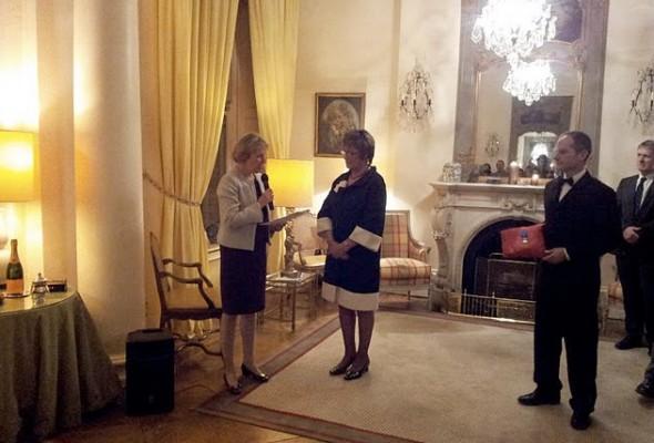 [Photos] Voeux de Madame L'Ambassadeur