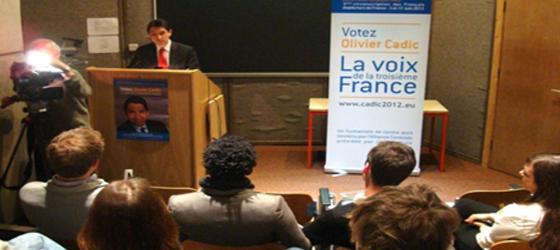 Appel à voter pour Olivier Cadic dès le premier tour des élections législatives