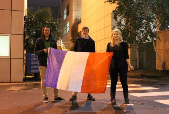 [Photos] Déplacement de Christophe Frassa à Dublin