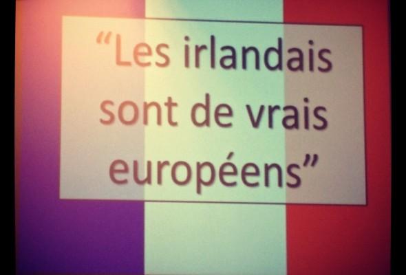 Les Irlandais sont-ils de vrais Européens ?