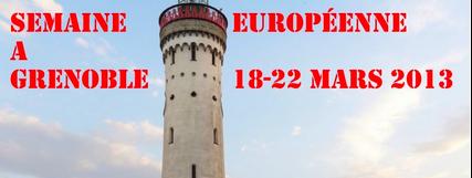 SEMAINE EUROPEENNE : Programme/Information (Grenoble)