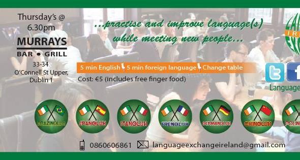 Frenglish – Language Exchange Dublin